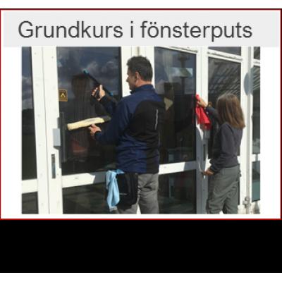 Kurs i fönsterputs -  öppen grupp