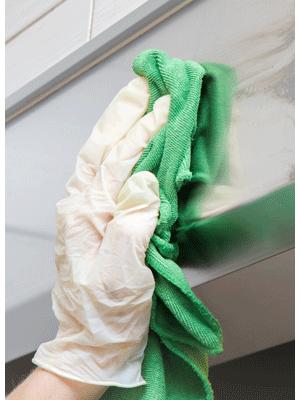 Städprodukt handduk