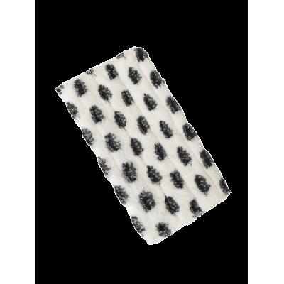 Y-pro pad av mikrofiber/svarta nylon dots